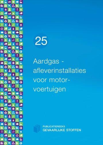 Aardgas - afleverinstallaties voor motorvoertuigen - Publicatiereeks ...