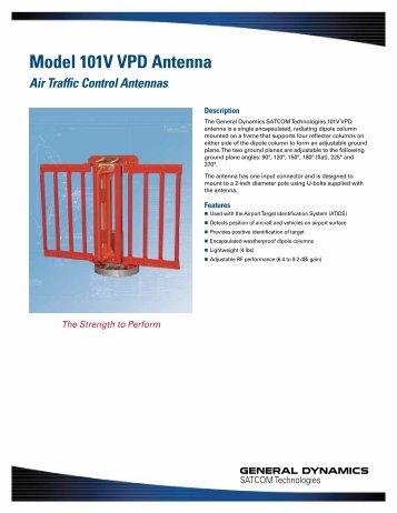 Model 101V VPD Antenna - General Dynamics SATCOM ...