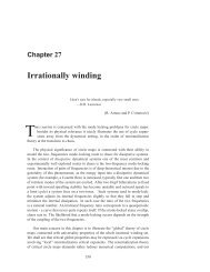 Chapter 27 Irrationally winding - ChaosBook.org