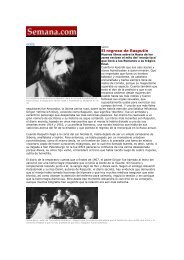 Revista Semana (Colombia) - 19 marzo 2006 - Melusina