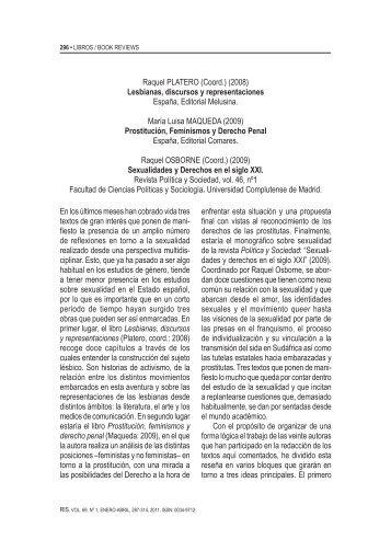 Revista Sociología - Enero/Abril 2011 - Melusina