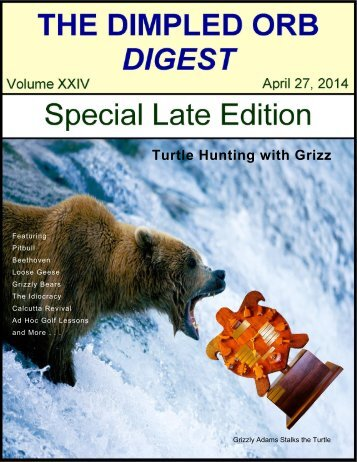 Dimpled Orb Digest 2014