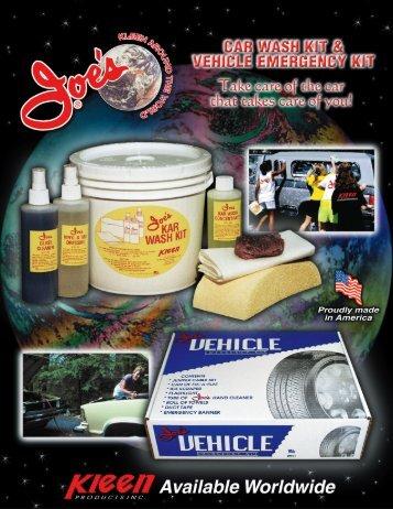 Product brochure - Joe's Hand Cleaner