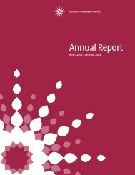 Annual Report11.17 - Association of Performing Arts Presenters