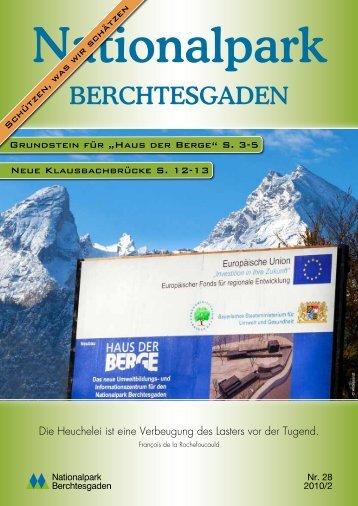 Wirkstoffe aus der Unterwelt - Nationalpark Berchtesgaden