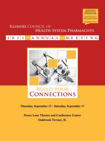 Illinois Council of Health-System Pharmacists - ICHP