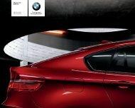 The all-new BMW X6 X6 xdrive35i X6 xdrive50i The ... - AUTO Gallery