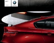 The all-new BMW X6 X6 xdrive35i X6 xdrive50i The ... - AUTO Gallery
