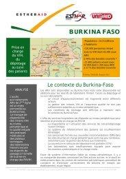 BURKINA FASO - Esther