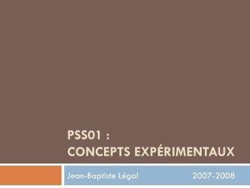 Concepts 2007-1.pdf - Jean-Baptiste Légal - Free