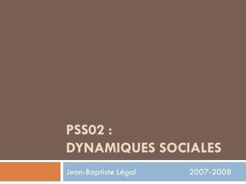 Dynamiques 2007.pdf - Jean-Baptiste Légal - Free