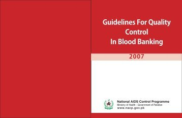 Final blood trans fusionsrvice - National AIDS Control Programme