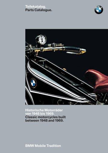 Parts Catalogue. - BMW MC  Klub Danmark