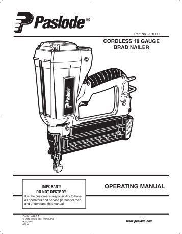 Paslode Magazines
