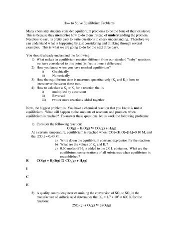 Equilibrium Problems II
