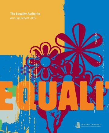 Annual Report 2005.pdf - Equality Authority