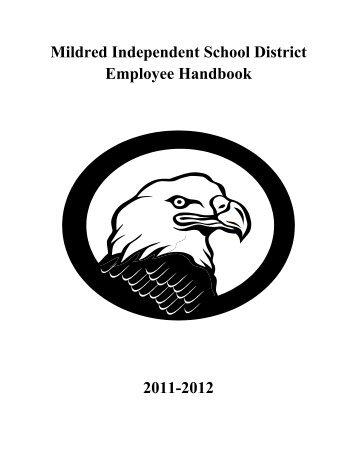 Mildred Independent School District Employee ... - Mildred ISD
