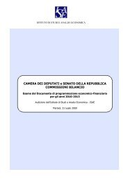 Esame del Documento di Programmazione economico-finanziaria ...