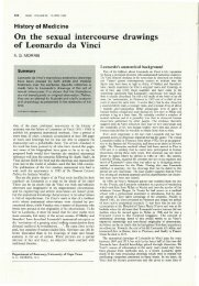 1.15 HISTORY OF MEDICINE.ON THE SEXUAL INTERCOURSE DRAWINGS OF LEONARDO DE VINCI, A.G.Morris