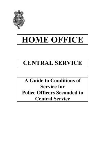 police service regulations 1961 pdf