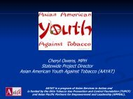AAYAT - 2003 National Conference on Tobacco or Health