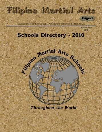Special Issue – FMAdigest School Directory 2010 - FMA  Informative
