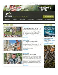 Issue 240 - January 10, 2013 - Outdoor Channel