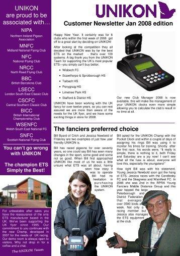Unikon Newsletter Jan 08.pub