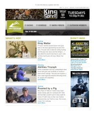 Issue 275 - May 14, 2013 - Outdoor Channel
