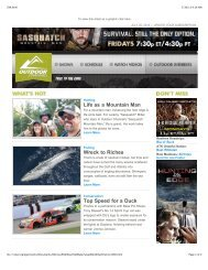 Issue 296 - July 25, 2013 - Outdoor Channel