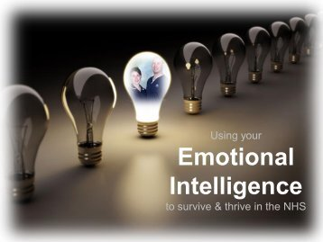 Emotional Intelligence - CTR training and consultancy