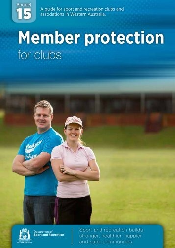 Member Protection Guide - ClubsOnline