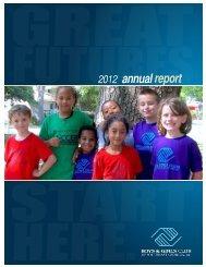 2012 Annual Report (pdf) - Boys & Girls Clubs of Southeast Georgia