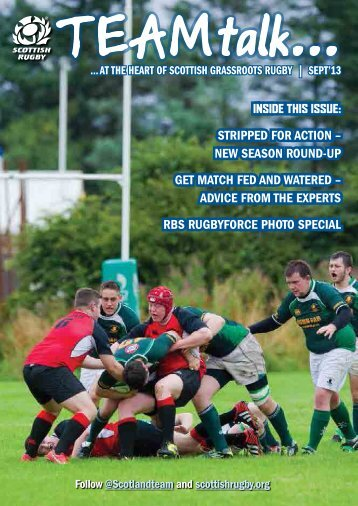 Download the latest edition - Scottish Rugby Union
