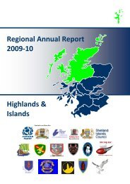 Highlands and Islands annual report - Scottish Rugby Union