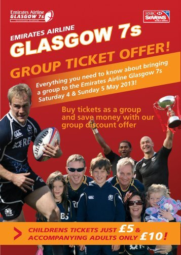 GROUP TICKET OFFER! - Scottish Rugby Union