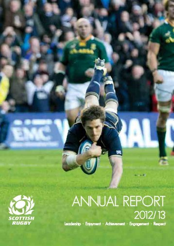 Annual report 2012/13: part 1 - Scottish Rugby Union