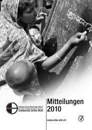 Mitteilungen 2010 - Solidarität Dritte Welt