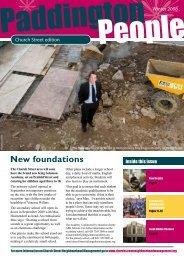 New foundations - Paddington Development Trust