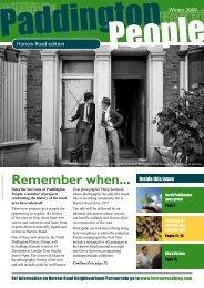 Remember when... - Paddington Development Trust