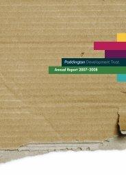 Paddington Development Trust Annual Report 2007/08 - EUKN
