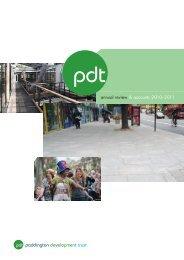 PDT-review-2010-2011 - Paddington Development Trust