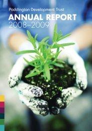 pdt-report-08-09 - Paddington Development Trust