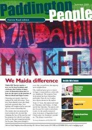 We Maida difference - Paddington Development Trust
