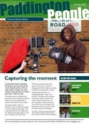 Capturing the moment - Paddington Development Trust