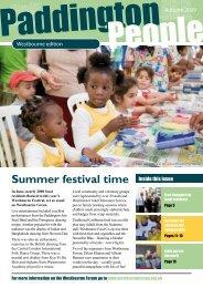 Summer festival time - Paddington Development Trust