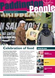 Celebration of food - Paddington Development Trust