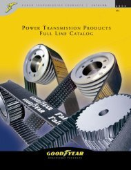 Goodyear Power Transmission Products