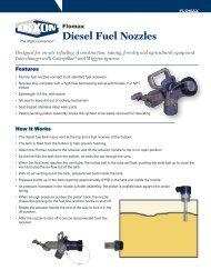 Flomax Diesel Fuel Nozzles - Dixon Valve