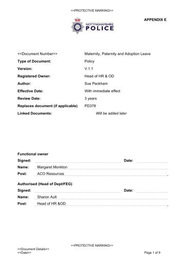 ML1 CONFIDENTIAL MATERNITY LEAVE APPLICATION FORM